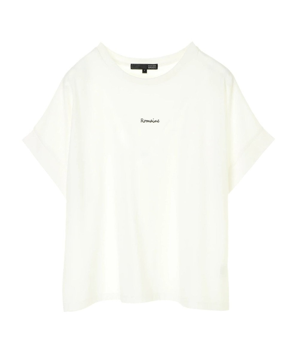 Green Parks ・SUGAR SPOON ロゴptドルマンT Off White