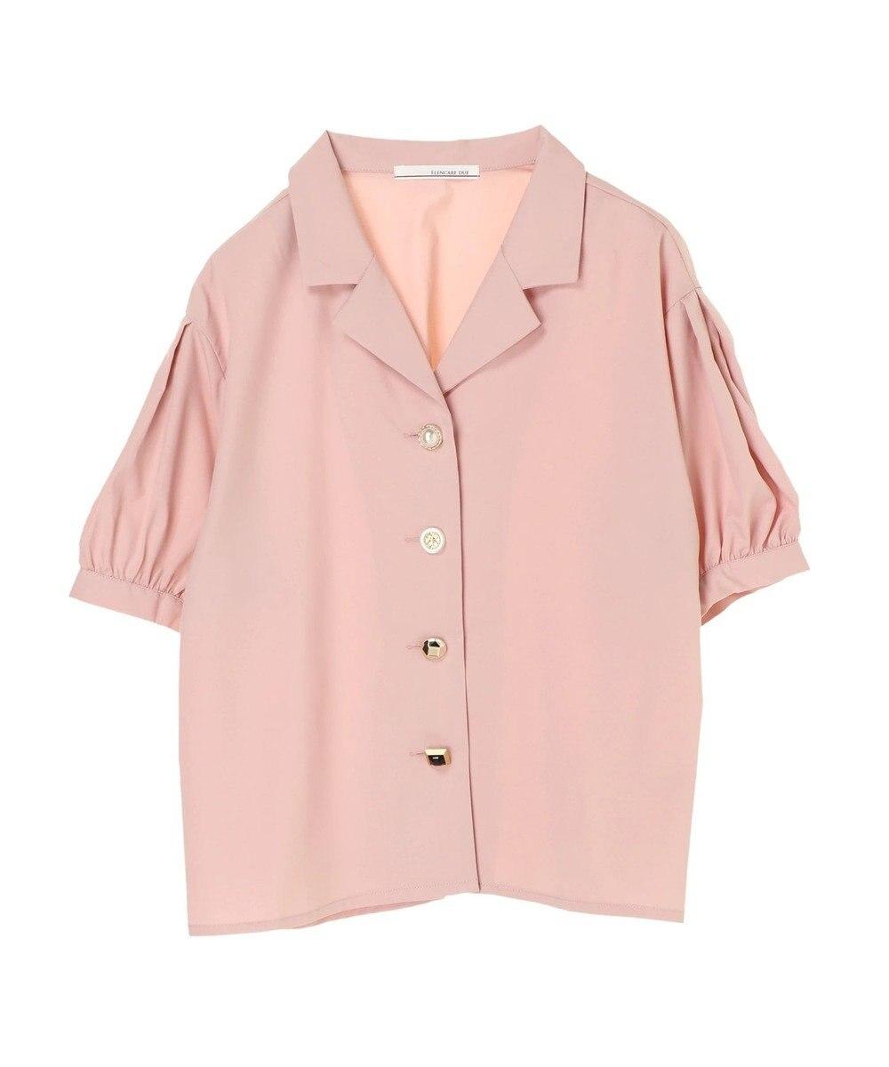 Green Parks ELENCARE DUE 5分袖 カイキンシャツ Pink