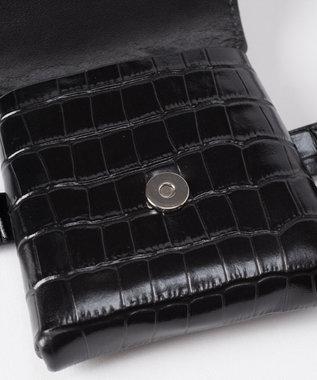 GRACE CONTINENTAL ミニバッグ付ベルト ブラック