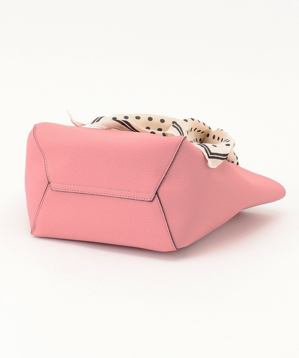 UNBILLION cachecache スカーフ付きシンプルトートバッグ ピンク
