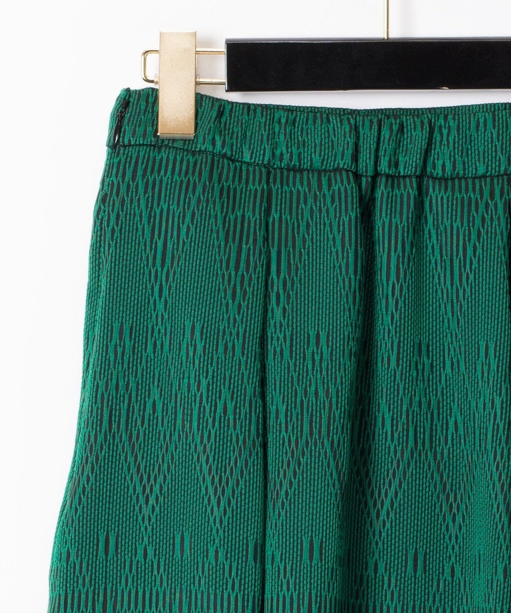 GRACE CONTINENTAL カラミキカスカート グリーン