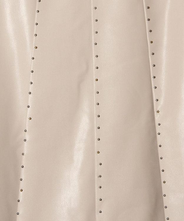 GRACE CONTINENTAL スタッズプリーツスカート