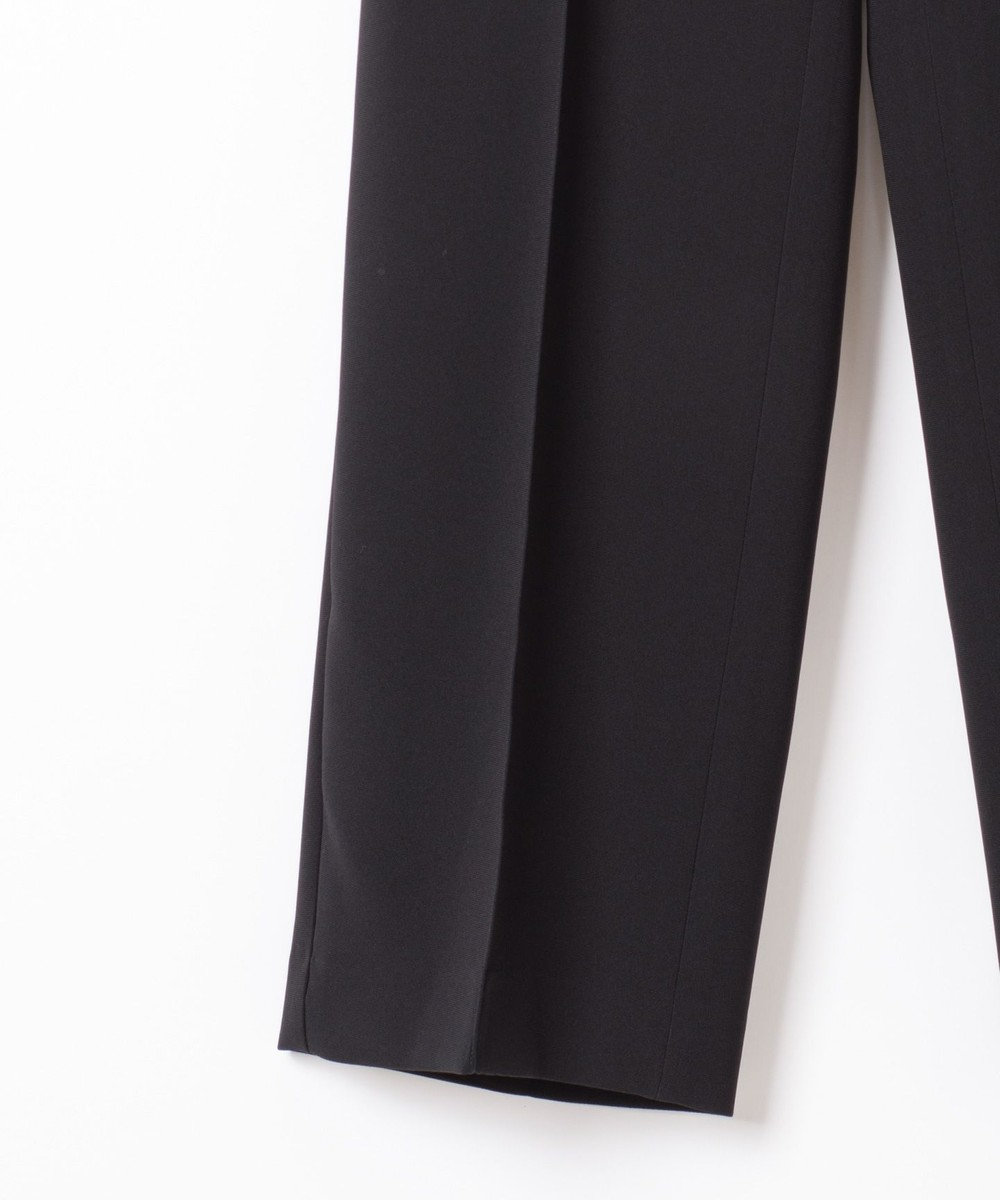 GRACE CONTINENTAL トリアセダブルクロスパンツ ブラック