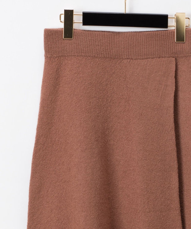 GRACE CONTINENTAL 圧縮ウールニットスカート