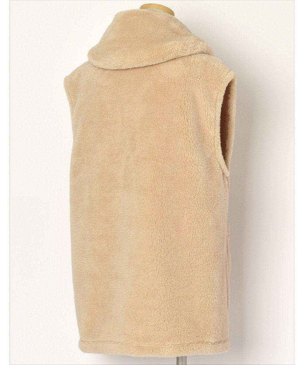 Wing 【羽織物】ベストタイプ フリース素材 ポケット付き ウイング/ワコール ベージュ