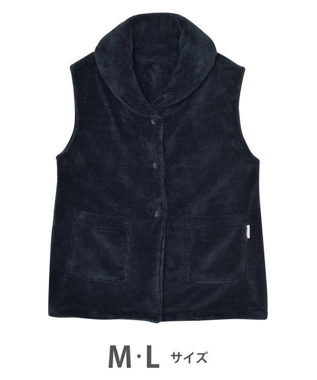 Wing 【羽織物】ベストタイプ フリース素材 ポケット付き ウイング/ワコール