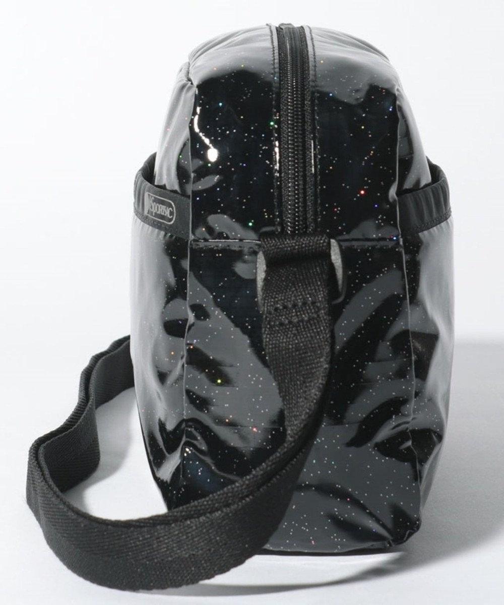 LeSportsac DANIELLA CROSSBODY/ブラックグリッター ブラックグリッター
