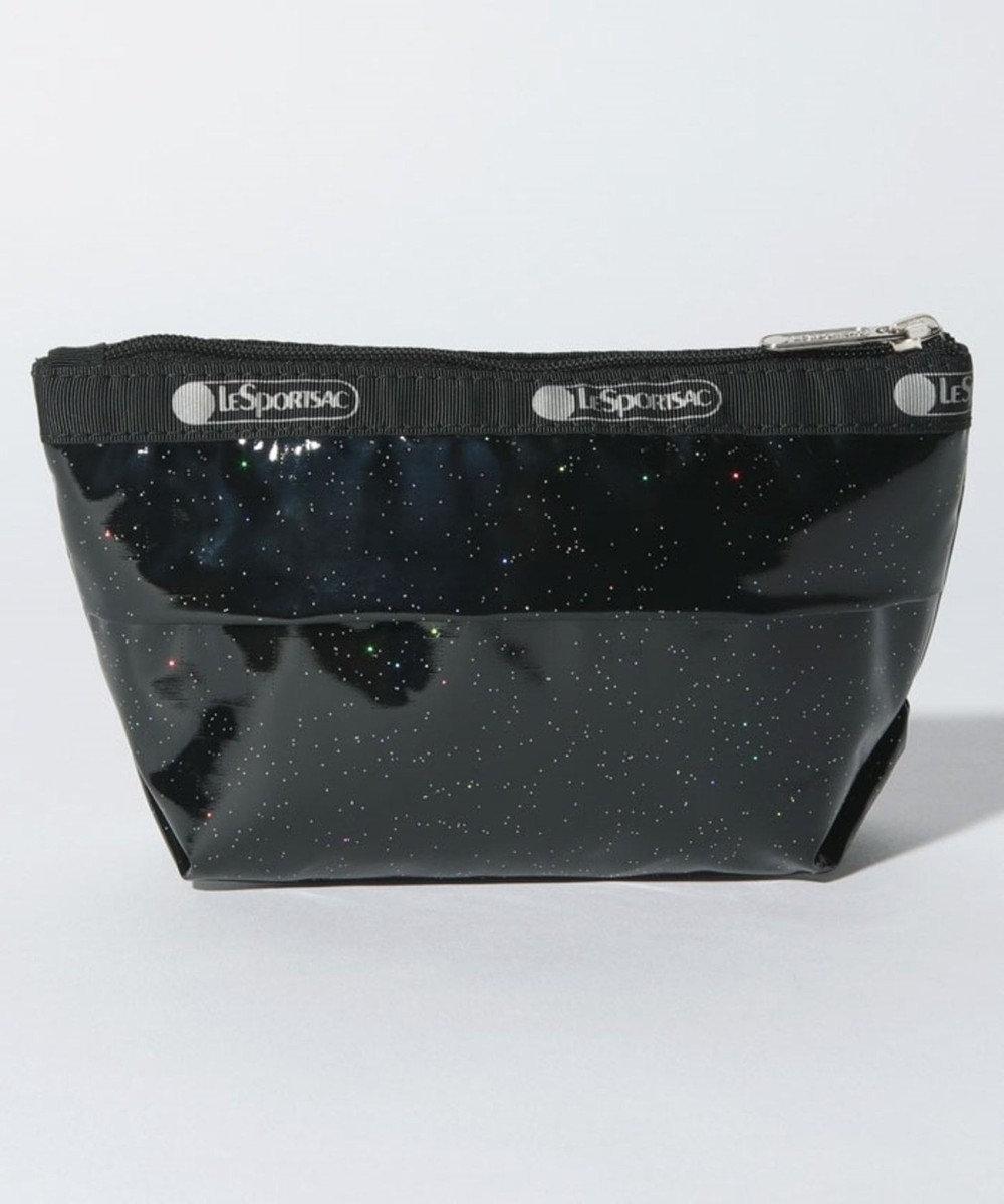 LeSportsac SMALL SLOAN COSMETIC/ブラックグリッター ブラックグリッター