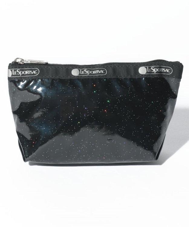 LeSportsac SMALL SLOAN COSMETIC/ブラックグリッター