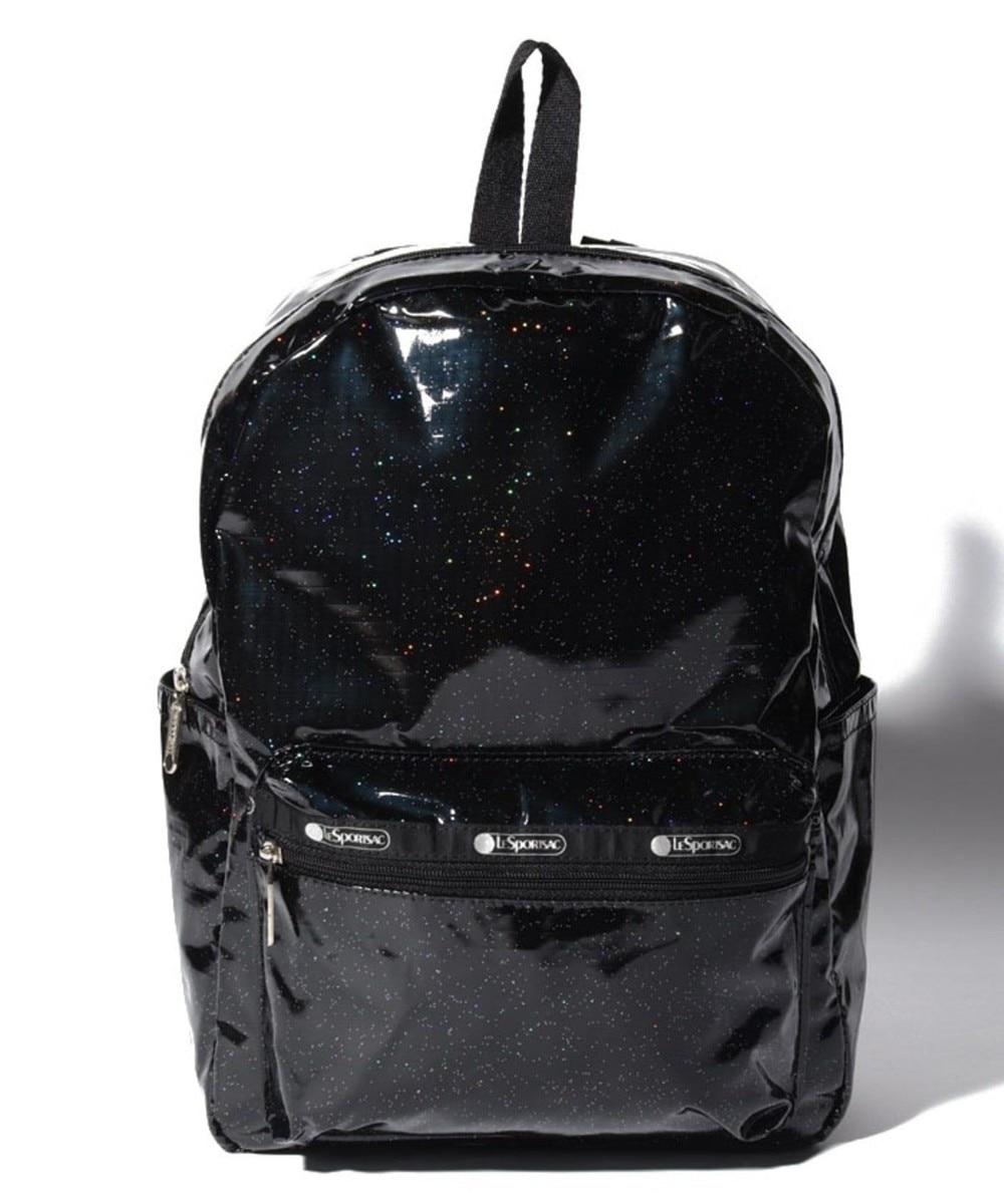 【オンワード】 LeSportsac>バッグ Medium Carson Backpack/ブラックグリッター ブラックグリッター F レディース 【送料無料】