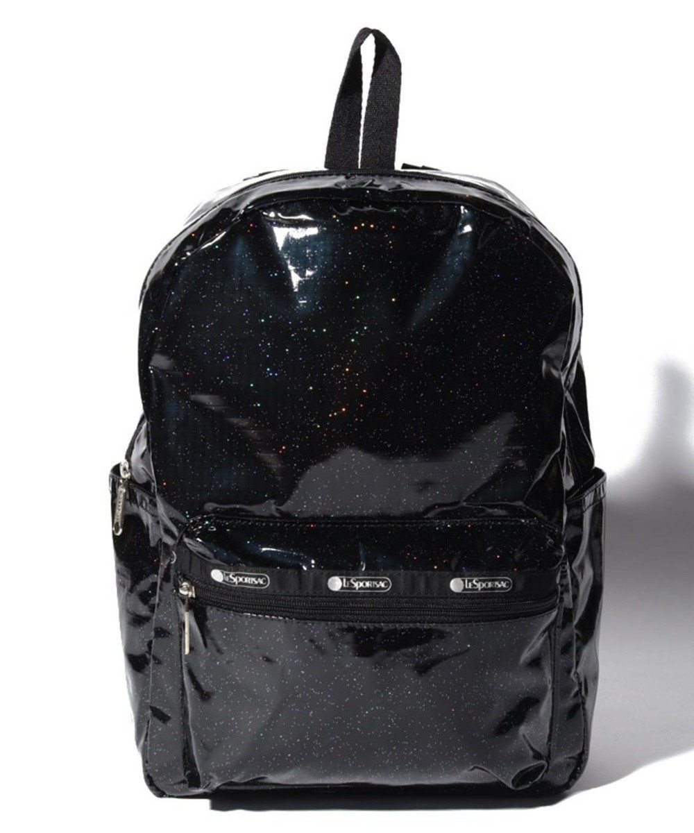 LeSportsac Medium Carson Backpack/ブラックグリッター ブラックグリッター