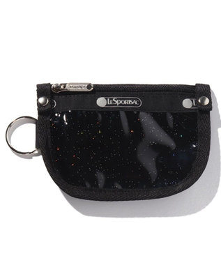 LeSportsac KEY COIN POUCH/ブラックグリッター ブラックグリッター