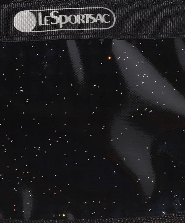 LeSportsac KEY COIN POUCH/ブラックグリッター