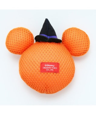 PET PARADISE ディズニー ミッキーマウス 犬用おもちゃ ハロウィン 音が鳴る オレンジ