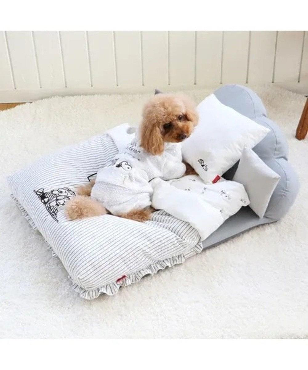 PET PARADISE ネット店限定 スヌーピー ファーロン ロンーパース〔小型犬〕 白~オフホワイト