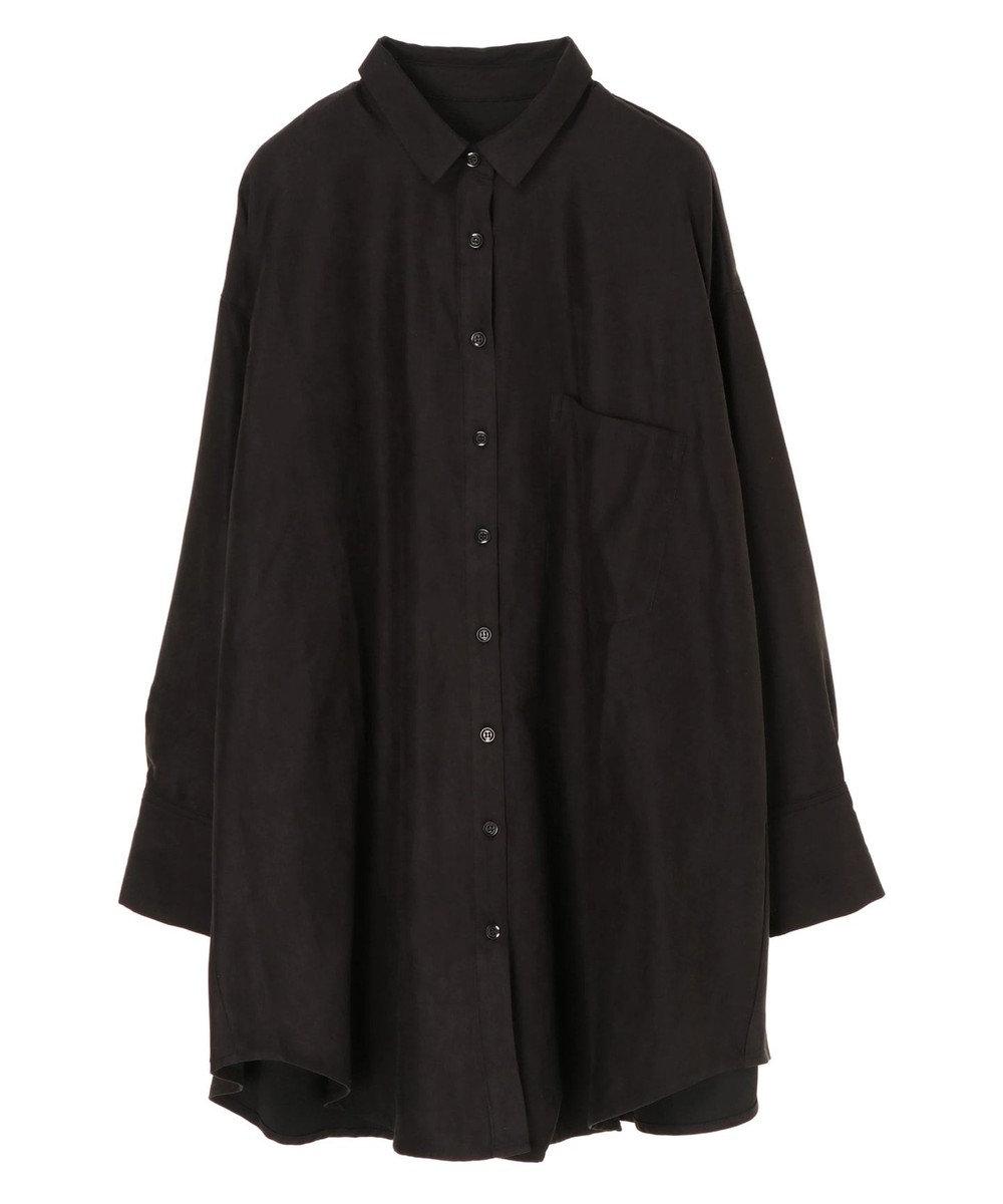 Green Parks Hunch オーバーサイズシャツチュニック Black