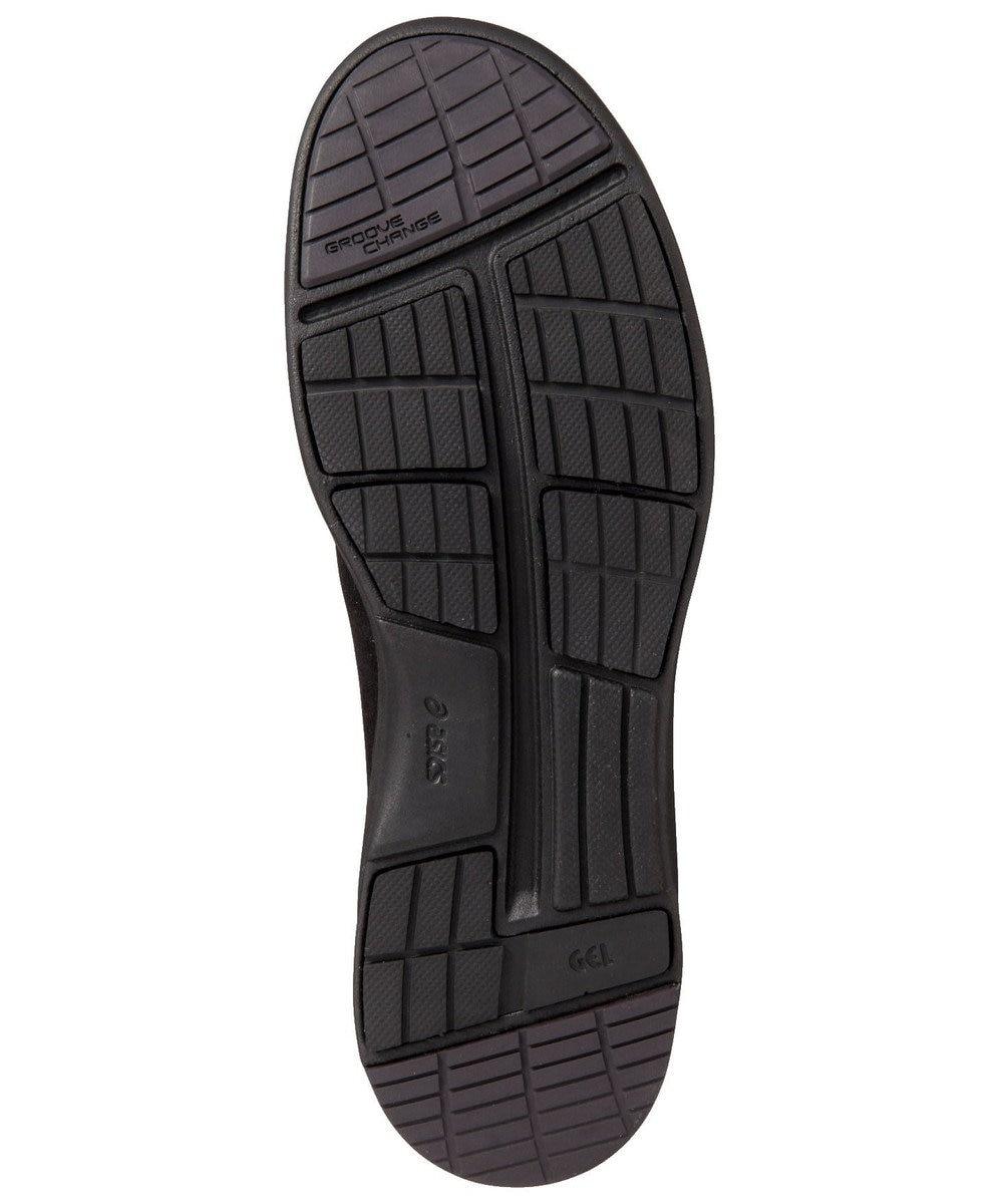 ASICS WALKING ペダラ WC023A 2E ヒール高3.0cm ブラック系
