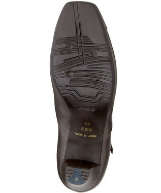 ASICS WALKING ペダラウォーキングシューズ 3E ヒール高5.0cm ブラウン系