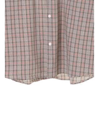 koe G クラシックチェックシャツ Beige