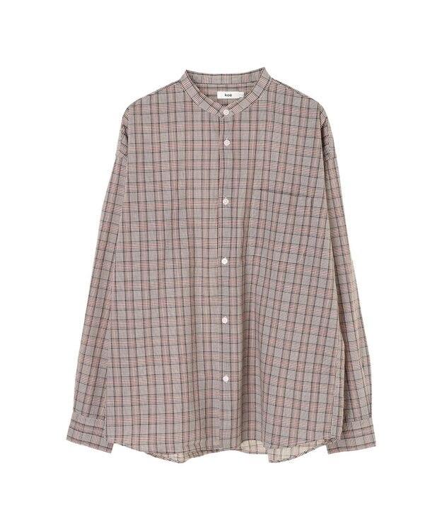 koe G クラシックチェックシャツ
