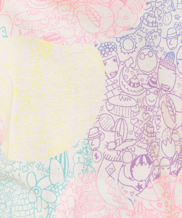 tsumori chisato SLEEP パジャマ ロング袖ロングパンツ 世界の仲間柄 /ワコール UDQ222