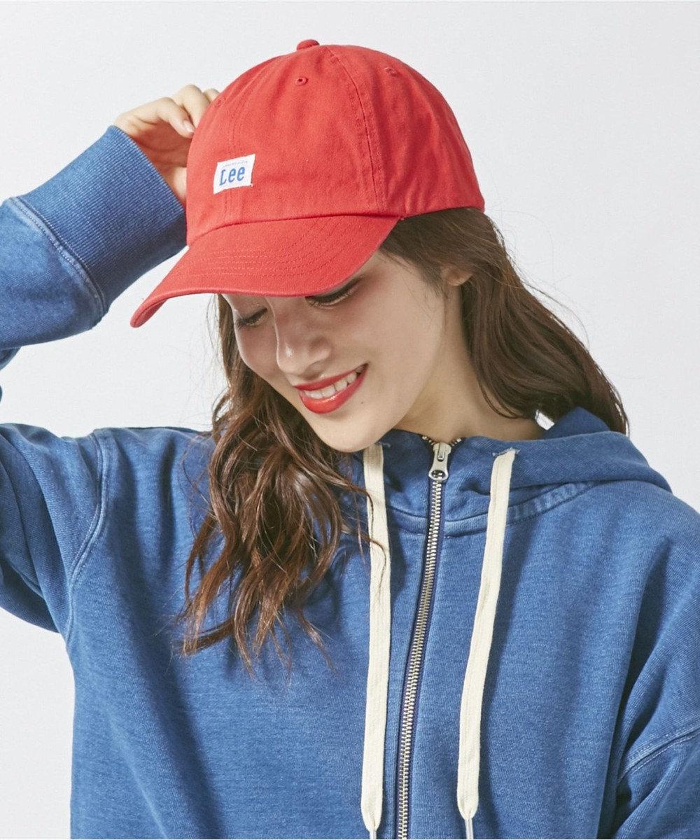 Hat Homes 【リー】 コットン ローキャップ RED