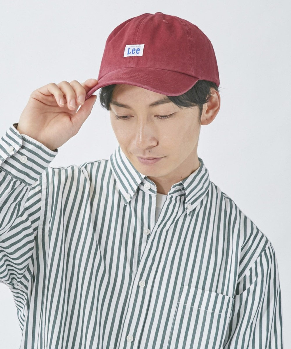 Hat Homes 【リー】 コットン ローキャップ DK RED
