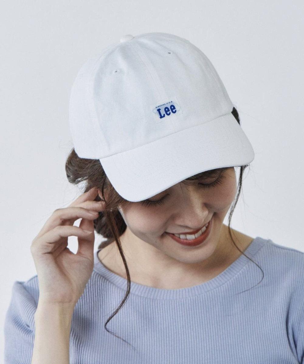 Hat Homes 【リー】 コットン ローキャップ WHITE