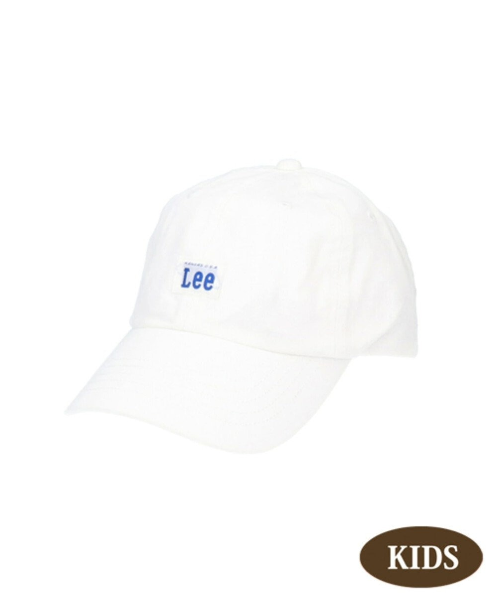Hat Homes 【リー キッズ】 キッズ コットン ローキャップ WHITE