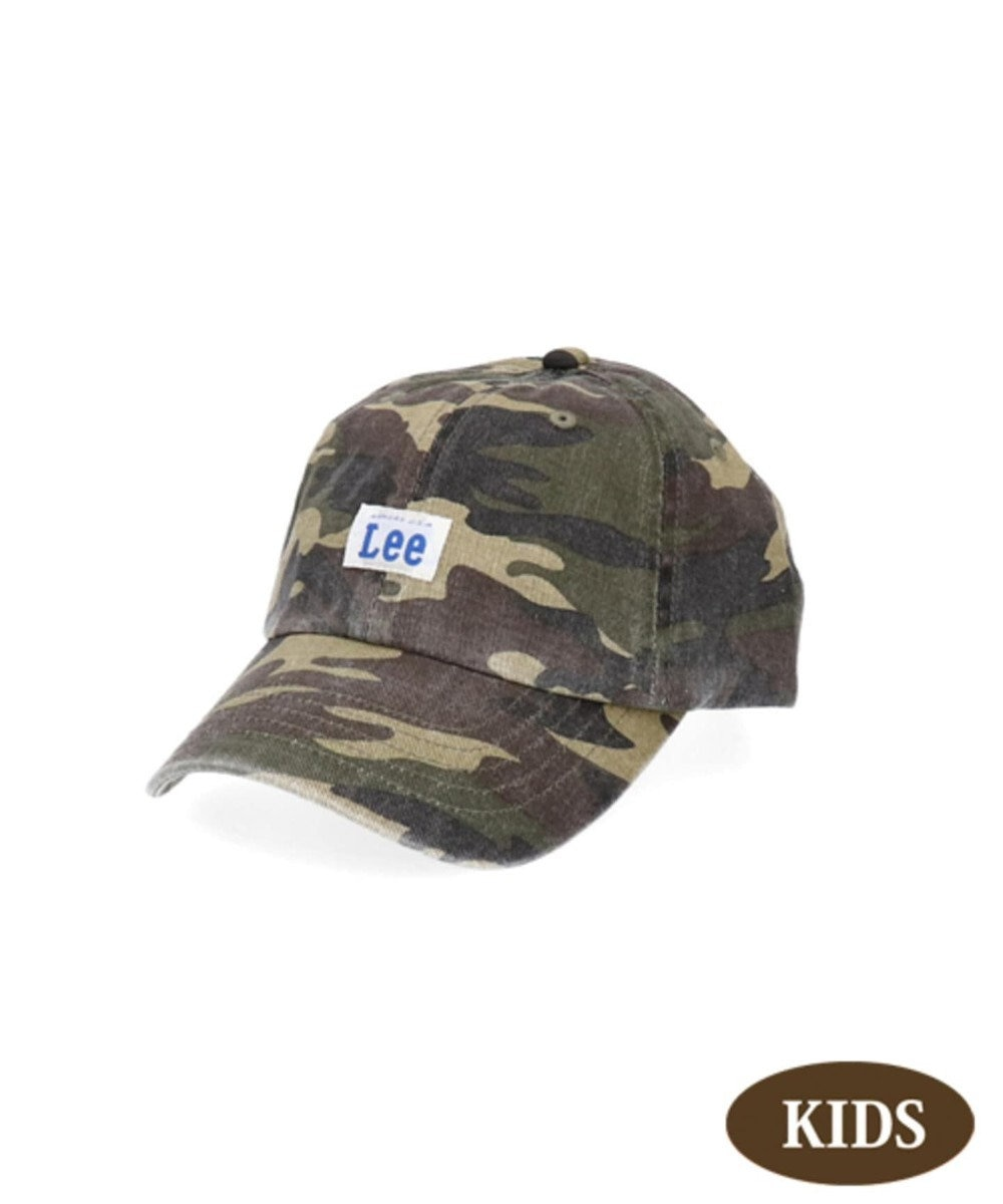 Hat Homes 【リー キッズ】 キッズ コットン ローキャップ CAMO
