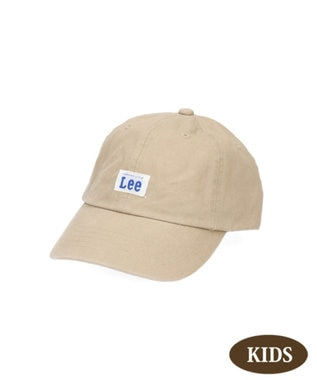 Hat Homes 【リー キッズ】 キッズ コットン ローキャップ BEIGE