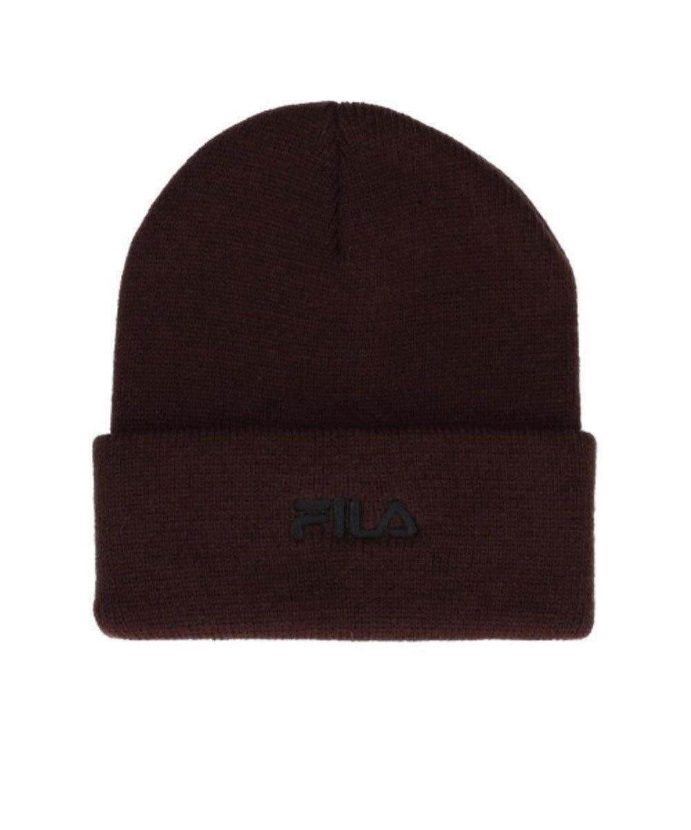 Hat Homes 【フィラ】 フィラロゴ ニット帽 BEIGE