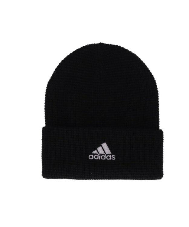Hat Homes 【アディダス】 アディダスロゴ ワッフルニット帽