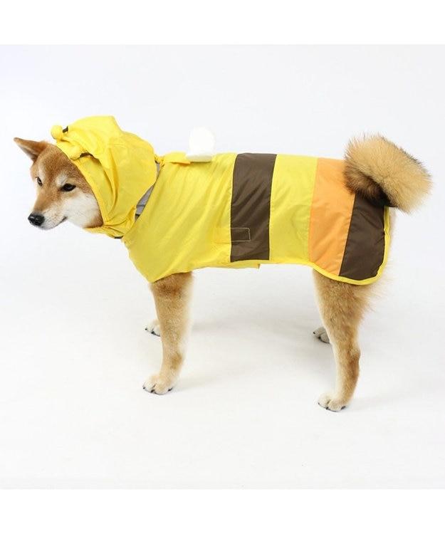 PET PARADISE 犬服 犬用品 ペットグッズ ペットウェア ペットパラダイス 犬 カッパ 蜂レインコート(ポンチョタイプ)【中・大型犬】  小型犬 雨具 ポンチョ