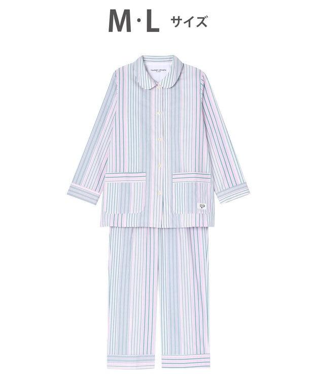tsumori chisato SLEEP パジャマ ロング袖ロングパンツ ストライプ柄 /ワコール UDR348