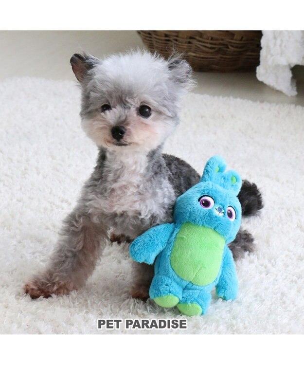 PET PARADISE ペットパラダイス ディズニー 犬用おもちゃ トイストーリー バニー 水色