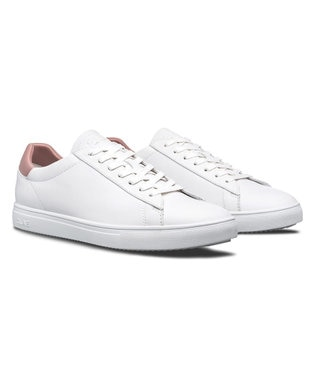 REGAL FOOT COMMUNITY 【クレイ メンズ】LJ02CBR/レザースニーカー ホワイト×ピンク