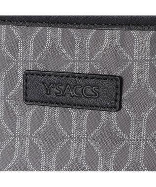 Y'SACCS モノグラムシリーズ スクエアリュックサック グレー