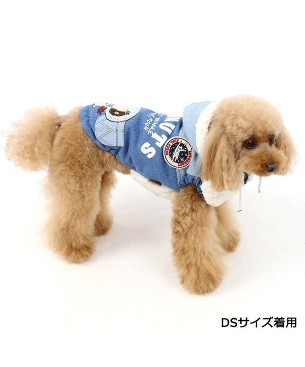 PET PARADISE ペットパラダイス スヌーピー アストロ ボアベスト 遠赤外線 青〔小型犬〕