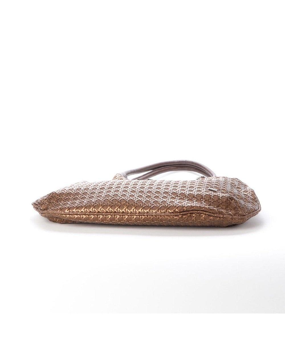 LA BAGAGERIE フレンチファブリック SAFECO 薄マチトートバッグ ブロンズ