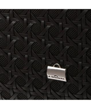 LA BAGAGERIE フレンチファブリック SAFECO 薄マチトートバッグ ブラック