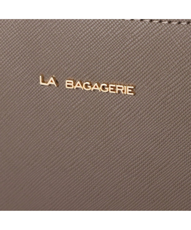LA BAGAGERIE 型押しレザー リュックサック
