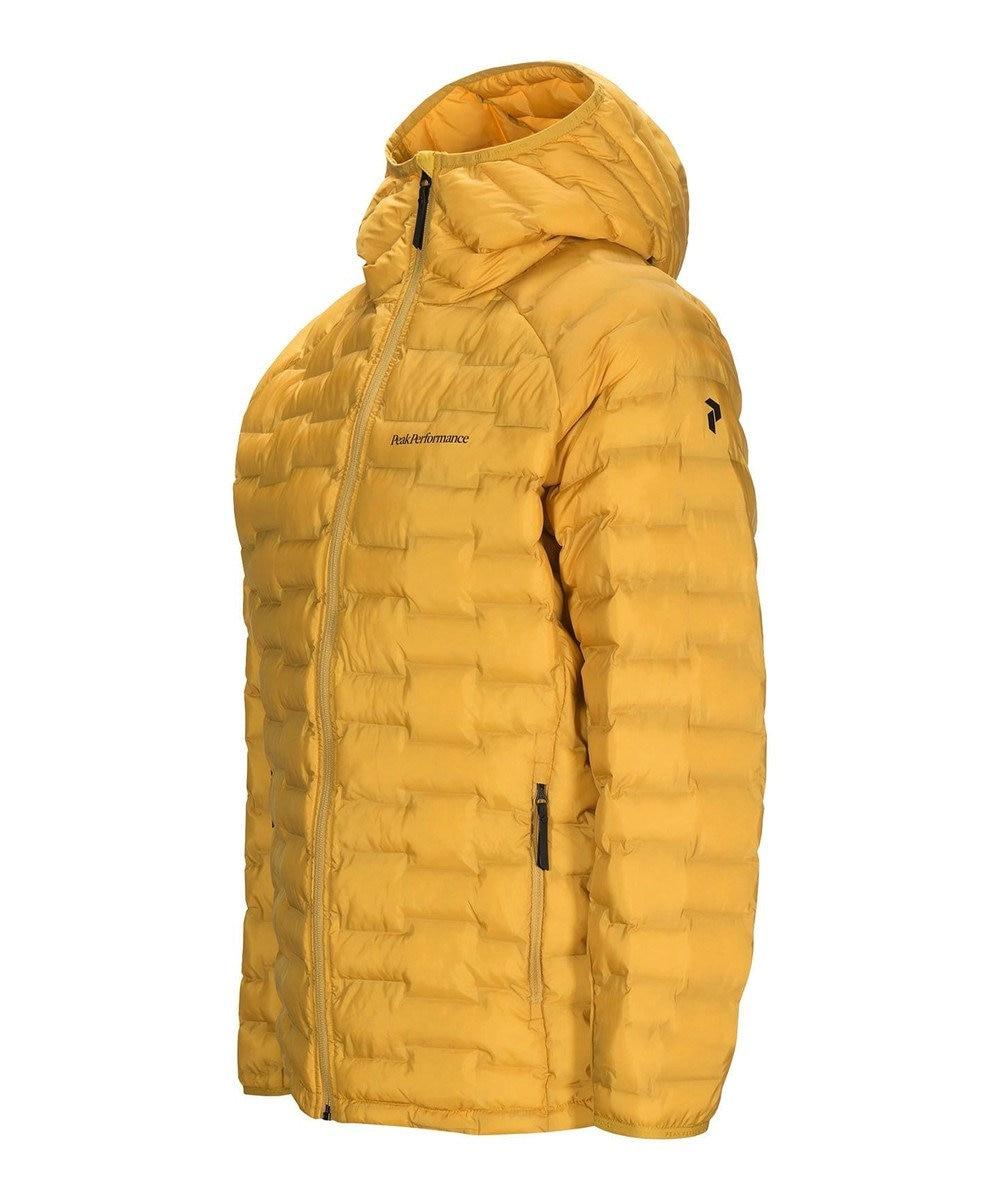 PeakPerformance 【中綿入りフードジャケットライト】アルゴンライトフードジャケット Smudge Yellow730