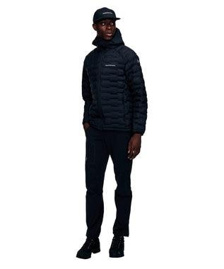PeakPerformance 【中綿入りフードジャケットライト】アルゴンライトフードジャケット Black