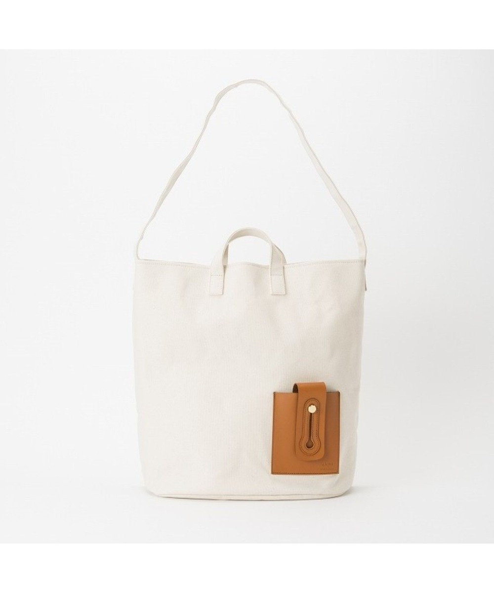 Regalo Felice ANME(アンメ) AN_0032・KEYHOLE TOTE_L/トート ホワイト