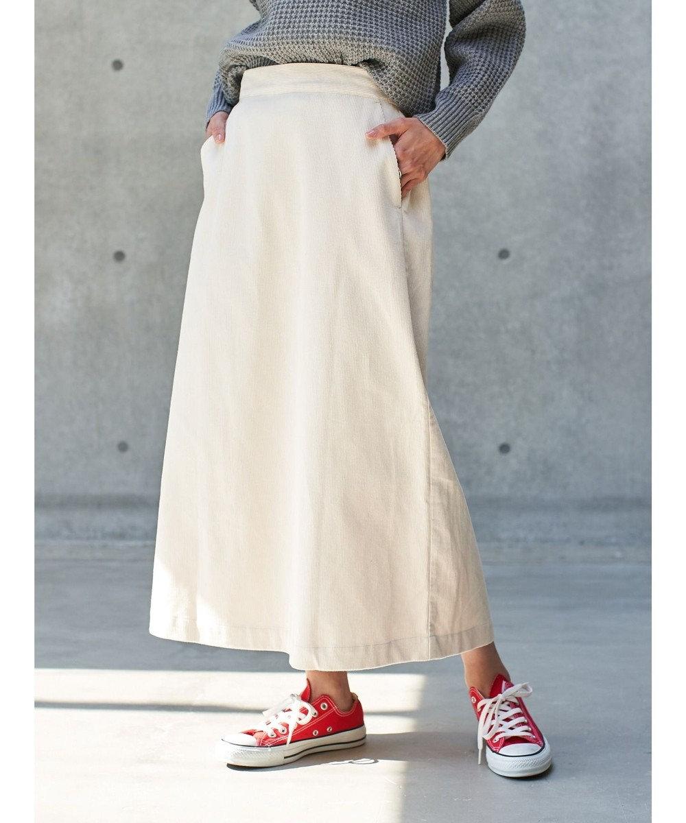koe コーデュロイスカート Off White