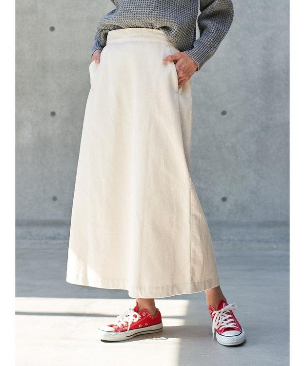 koe コーデュロイスカート