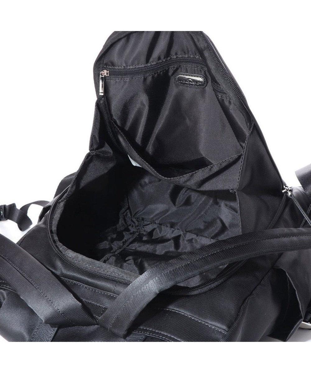LA BAGAGERIE エスポワール ナイロンリュックサック ブラック