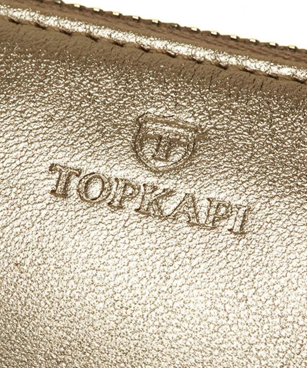 TOPKAPI [トプカピ] ソフトスムースレザー・ウォレットショルダーバッグ Mellow ゴールド
