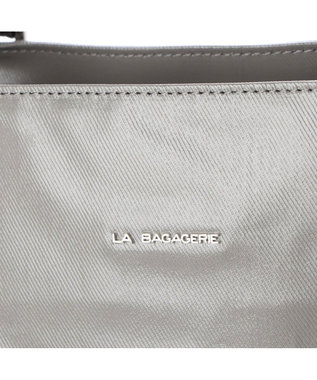 LA BAGAGERIE EMAILLERシリーズ   縦型トート グレー